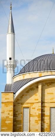 Ottoman Style Architecture, Mosques And Minarets Details, Antalya Turkey