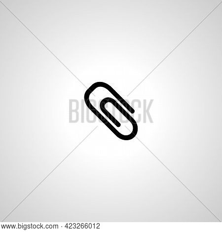Paper Clip Isolated Vector Icon. Paper Clip Isolated Vector Icon. Paper Clip Isolated Vector Icon.