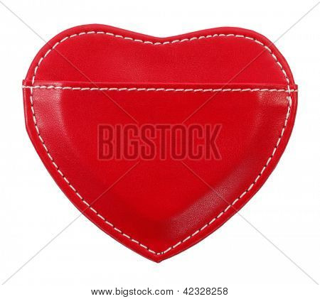 Love message holder heart shaped