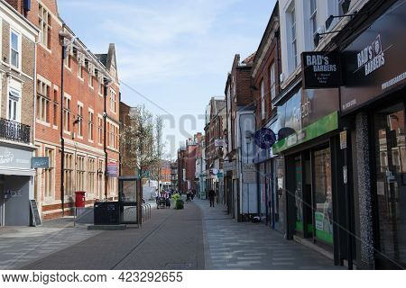 Views Of The Shopping Precinct In Maidenhead, Berkshire In The Uk, Taken On The 30th March 2020