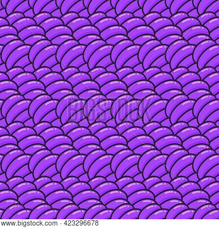 Flat Texture Purple Seamless Pattern Textile Print. Great For Summer Vintage Fabric, Scrapbooking, W
