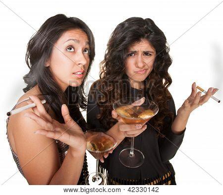 Two Club Girls