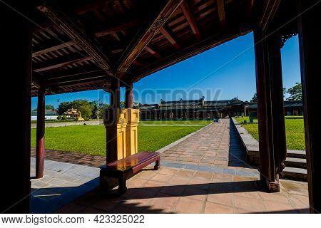 Imperial City Citadel Hue Vietnam