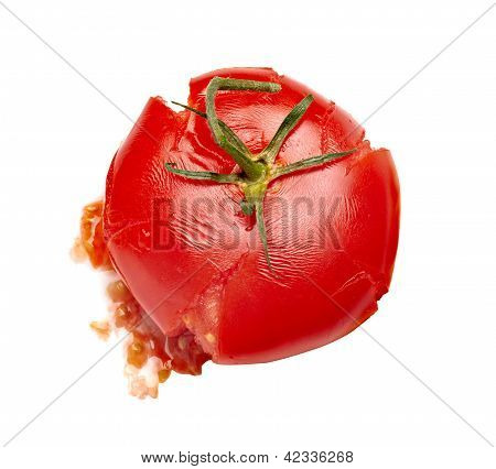 Splattered Splashed Tomato Vegetable Food