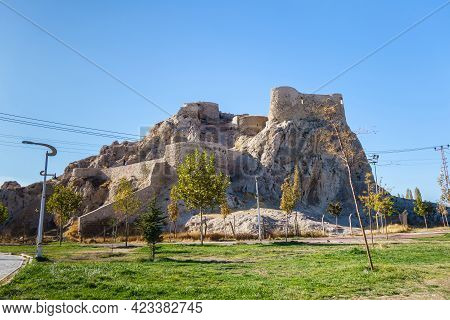 Eastern Part Of Fortifications Of Van Fortress, Powerful Bastions On Almost Impregnable Rocks, Van,