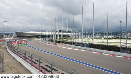 Olympic Park. Sochi Autodrom. The Track Hosting The Formula 1 Russian Grand Prix. Russia, Sochi, Adl