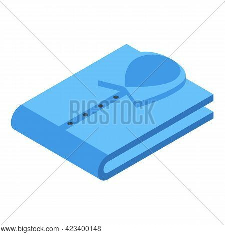 Shirt Stack Icon. Isometric Of Shirt Stack Vector Icon For Web Design Isolated On White Background