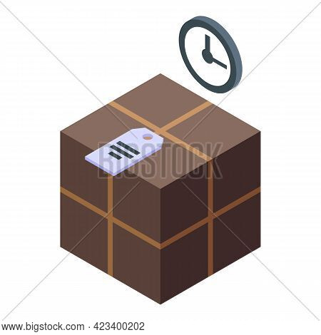 Parcel Consumer Rights Icon. Isometric Of Parcel Consumer Rights Vector Icon For Web Design Isolated