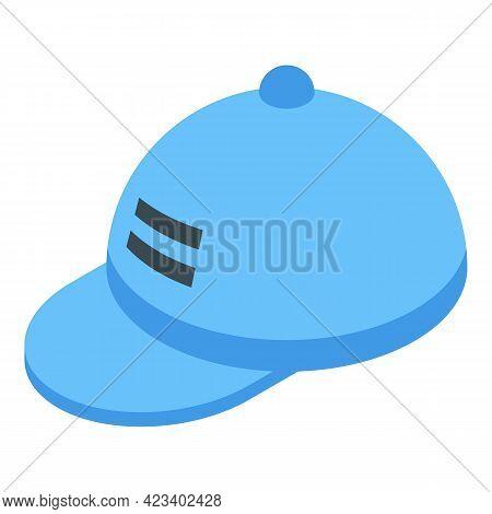 Baseball Cap Digital Printing Icon. Isometric Of Baseball Cap Digital Printing Vector Icon For Web D