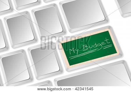 my budget on blackboard