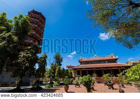 Temple Of Chemistry Hue Vietnam