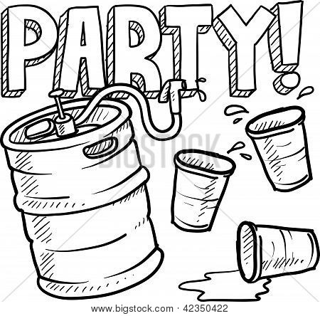 Keg party sketch
