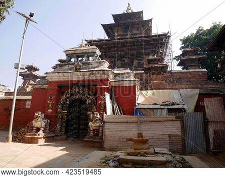 Taleju Bhawani Deju Palace Temple For Nepali People And Foreign Travelers Travel Visit Respect Prayi