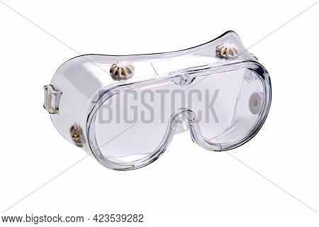 View Of Chemical Splash Goggles That Help  Protect Eye From Particulates And Chemical Splash Isolate