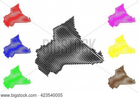 Wise County, Commonwealth Of Virginia (u.s. County, United States Of America, Usa, U.s., Us) Map Vec