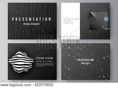 Vector Layout Of The Presentation Slides Design Business Templates, Multipurpose Template For Presen