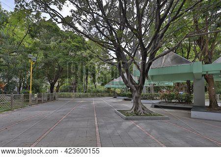 29 May 2021 The Lanscape Of Sham Shui Po Park, Hong Kong