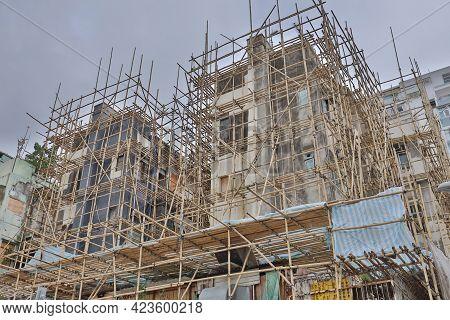 29 May 2021 The The Urban Renewal, Urban Construction Site, Hong Kong