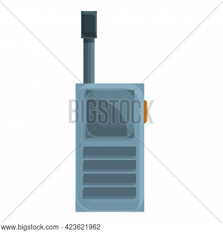 Camping Walkie Talkie Icon. Cartoon Of Camping Walkie Talkie Vector Icon For Web Design Isolated On