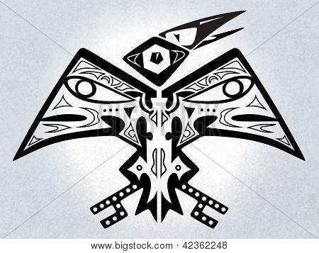 mythischer Vogel digitaler Werke