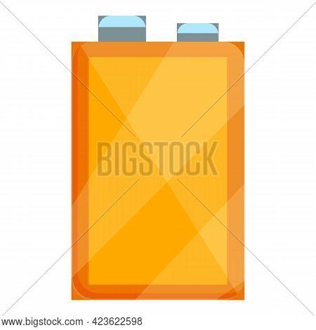 Camping Kerosene Flask Icon. Cartoon Of Camping Kerosene Flask Vector Icon For Web Design Isolated O