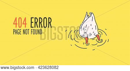 404 Error. Page Not Found. Problems With Finding The Right Page By Request.