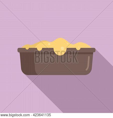 Baking Cake Icon. Flat Illustration Of Baking Cake Vector Icon For Web Design