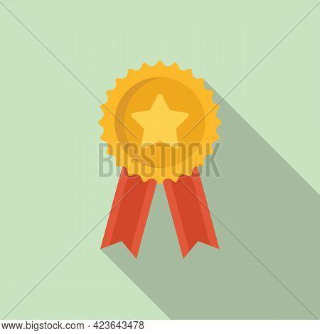 Sale Bonus Emblem Icon. Flat Illustration Of Sale Bonus Emblem Vector Icon For Web Design