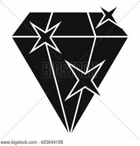 Bonus Diamond Icon. Simple Illustration Of Bonus Diamond Vector Icon For Web Design Isolated On Whit
