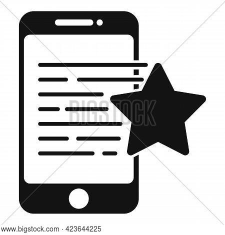 Bonus Smartphone Icon. Simple Illustration Of Bonus Smartphone Vector Icon For Web Design Isolated O