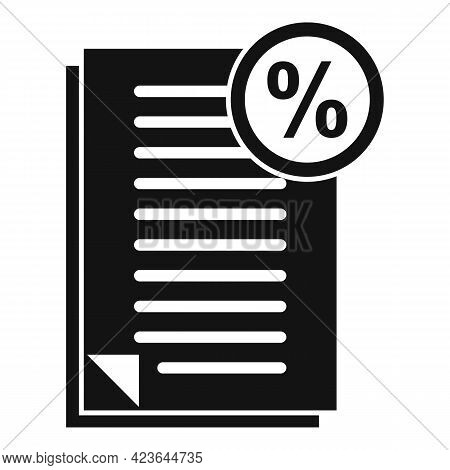 Bonus Documents Icon. Simple Illustration Of Bonus Documents Vector Icon For Web Design Isolated On