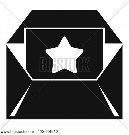 Bonus Envelope Icon. Simple Illustration Of Bonus Envelope Vector Icon For Web Design Isolated On Wh