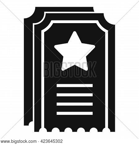 Sale Bonus Ticket Icon. Simple Illustration Of Sale Bonus Ticket Vector Icon For Web Design Isolated