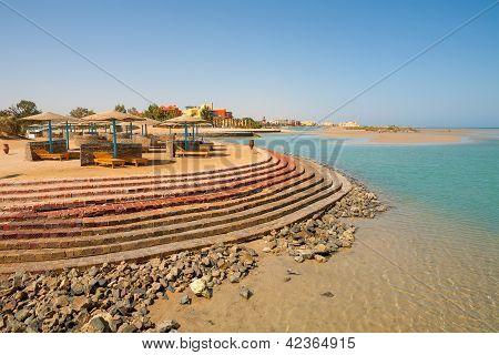 Playa de El Gouna. Egipto