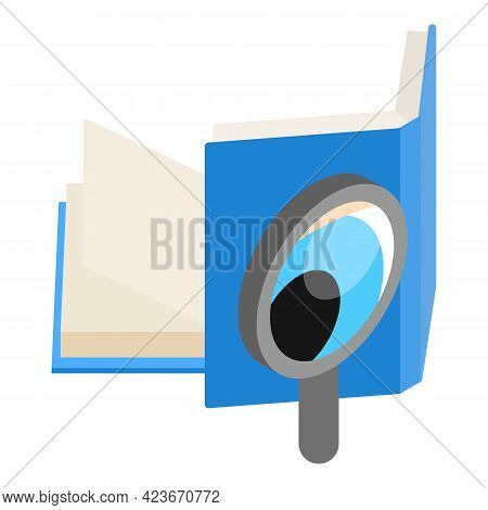 Case Study Icon. Isometric Illustration Of Case Study Vector Icon For Web