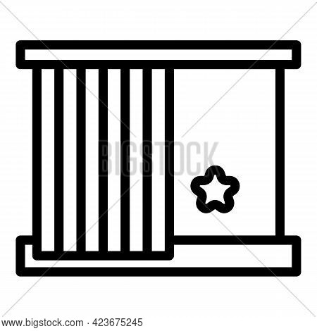 Perfectionism Window Icon. Outline Perfectionism Window Vector Icon For Web Design Isolated On White