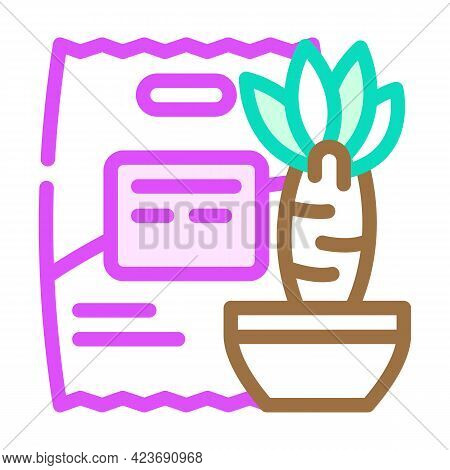 Yucca Food Gluten Free Color Icon Vector. Yucca Food Gluten Free Sign. Isolated Symbol Illustration