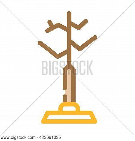 Hanger Design Furniture Color Icon Vector. Hanger Design Furniture Sign. Isolated Symbol Illustratio