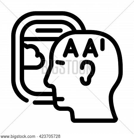 Flying Airplane Fear Line Icon Vector. Flying Airplane Fear Sign. Isolated Contour Symbol Black Illu