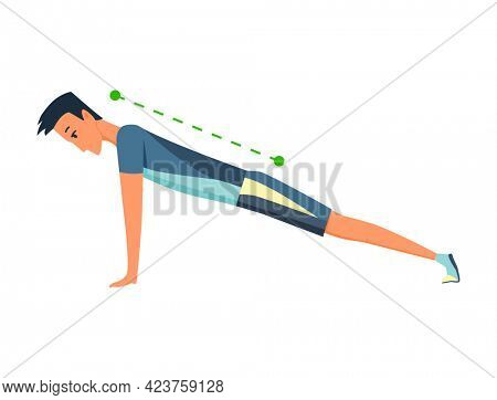 Posture and ergonomics. Correct alignment of human body posture for good personality and healthy of spine and bone. Healthy natural posture at sport
