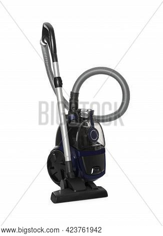 New Modern Vacuum Cleaner Isolated On White