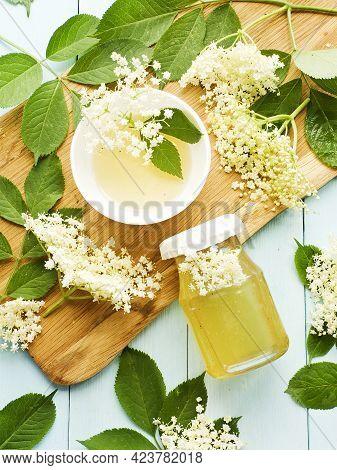 Elderberry Homemade Honey
