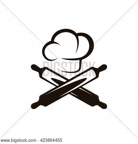 Bakery Chef Logo. Bakery Logo Design Vector Template