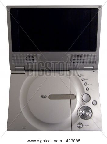 Portable Dvd Player Silver