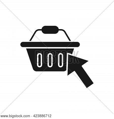 Shopping Cart with Arrow icon. Shopping Cart icon. Shopping icon. Shopping Cart with Arrow icon vector. Online Shopping icon. Online Shop icon. Shopping Cart icon. Shopping Cart with Arrow design for website, icon, logo, sign, symbol, app UI