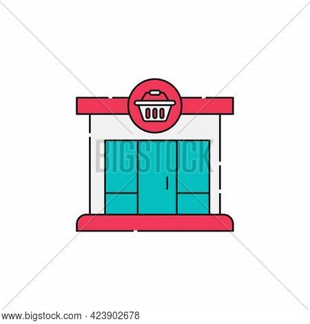 Modern Store icon. Shopping Store icon. Store icon. Modern Shopping Store vector. Store vector. Store icon vector. Online Store icon. Modern Store icon vector. Store symbol. Shopping Store vector icon design for website, logo, sign, symbol, app