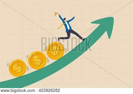 Investment Profit And Earning, Stock Market Growth Or Fund Flow Depend On Interest Rate And Inflatio