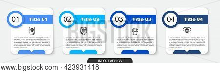 Set Line Psychology Book, Psi, Psychology, , Anger And . Business Infographic Template. Vector