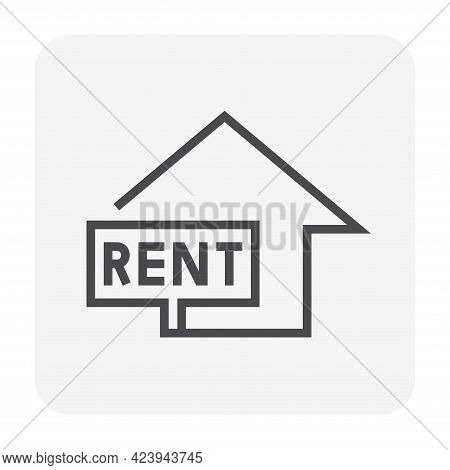 Real Estate Business And Investment Vector Icon Set Design.