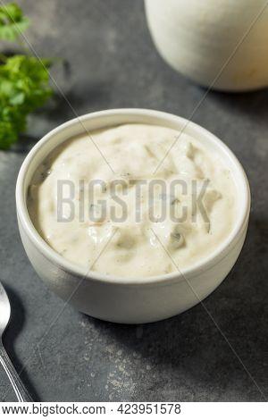 Homemade Creamy Tartar Sauce